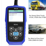Nexas NexLink NL102 Heavy Duty OBD/ EOBD+CAN Diagnostic Tool