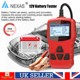 Nexas NexBat NB300 12V Automotive Battery Analyser, Battery Tester, Nexas, ljmcardiagnostics, icarsoft, car scanner
