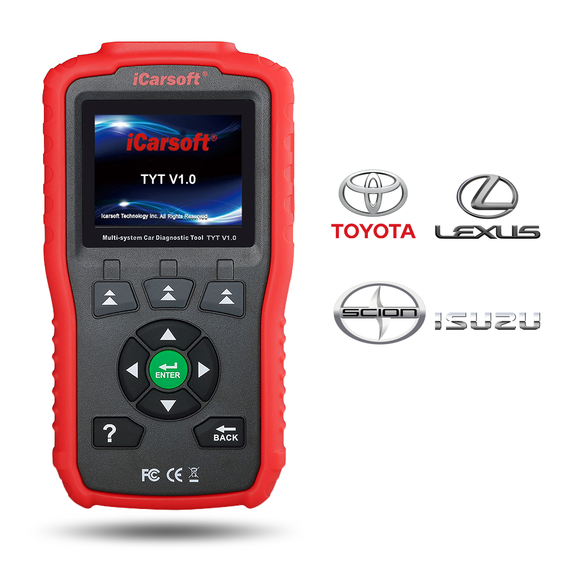 iCarsoft TYT V1.0 - Toyota, Lexus, Scion & Isuzu Diagnostic Tool