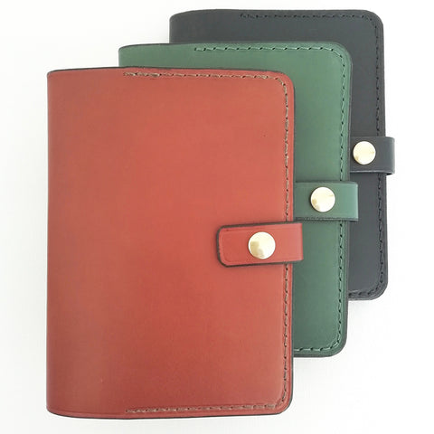 A6 Leather Notebook Cover