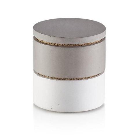 Pure Concrete Stacking Salt & Spice Cellars