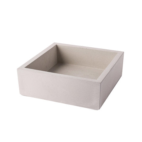 Concrete Cocktail Napkin Bin