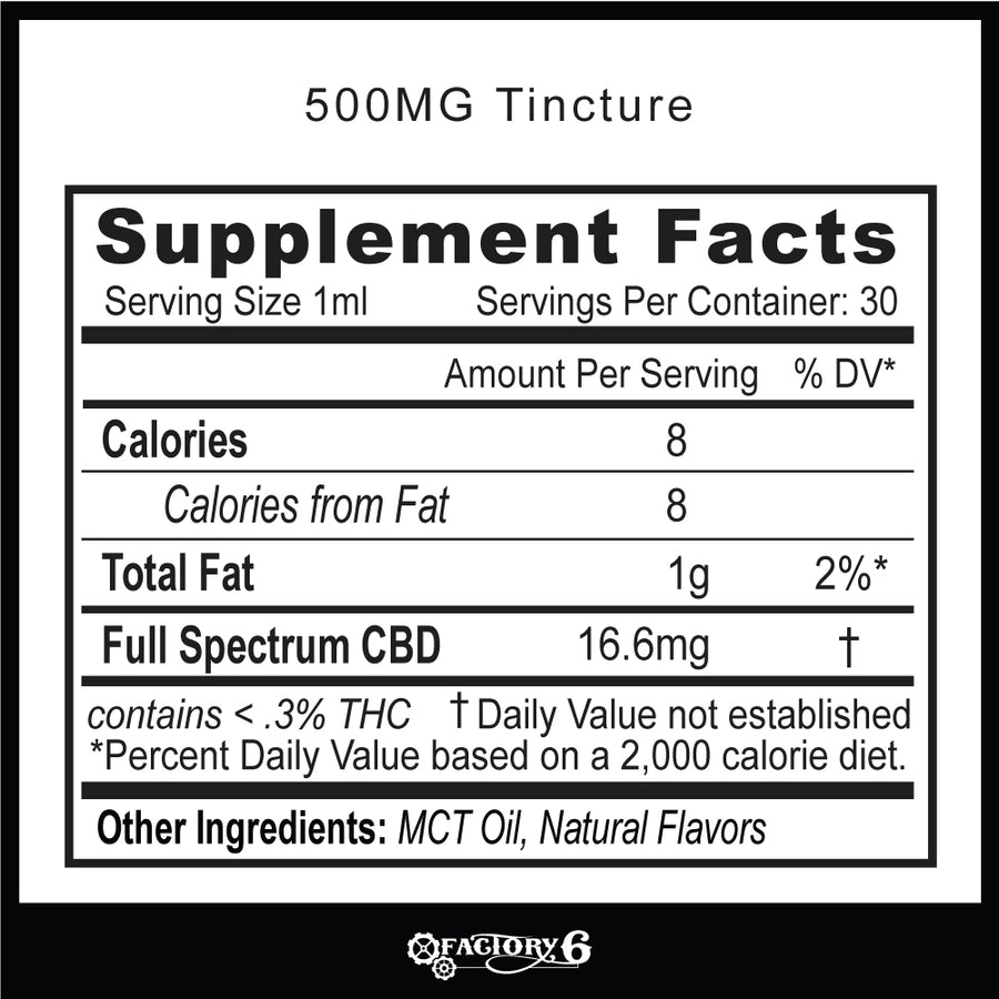 1000mg CBD Tinctures - THC-free&Full Spec -Natural&Mint flavor
