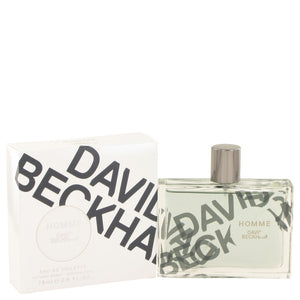 David Beckham Homme by David Beckham Eau De Toilette Spray 2.5 oz for Men
