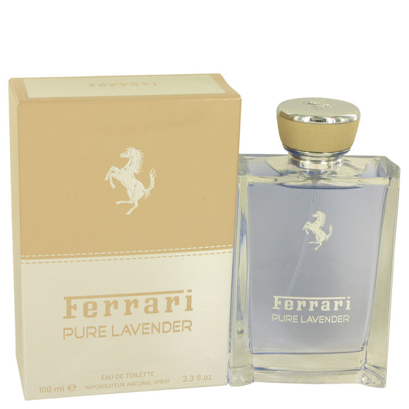 Ferrari Pure Lavender by Ferrari Eau De Toilette Spray (Unisex) 3.4 oz for Men