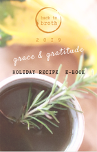 Load image into Gallery viewer, Grace & Gratitude Holiday Recipe E-Book