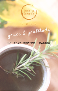 Grace & Gratitude Holiday Recipe E-Book