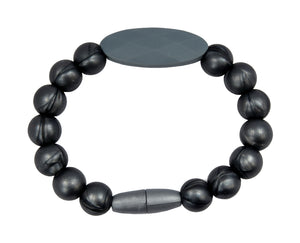 Grey Teething Bracelet