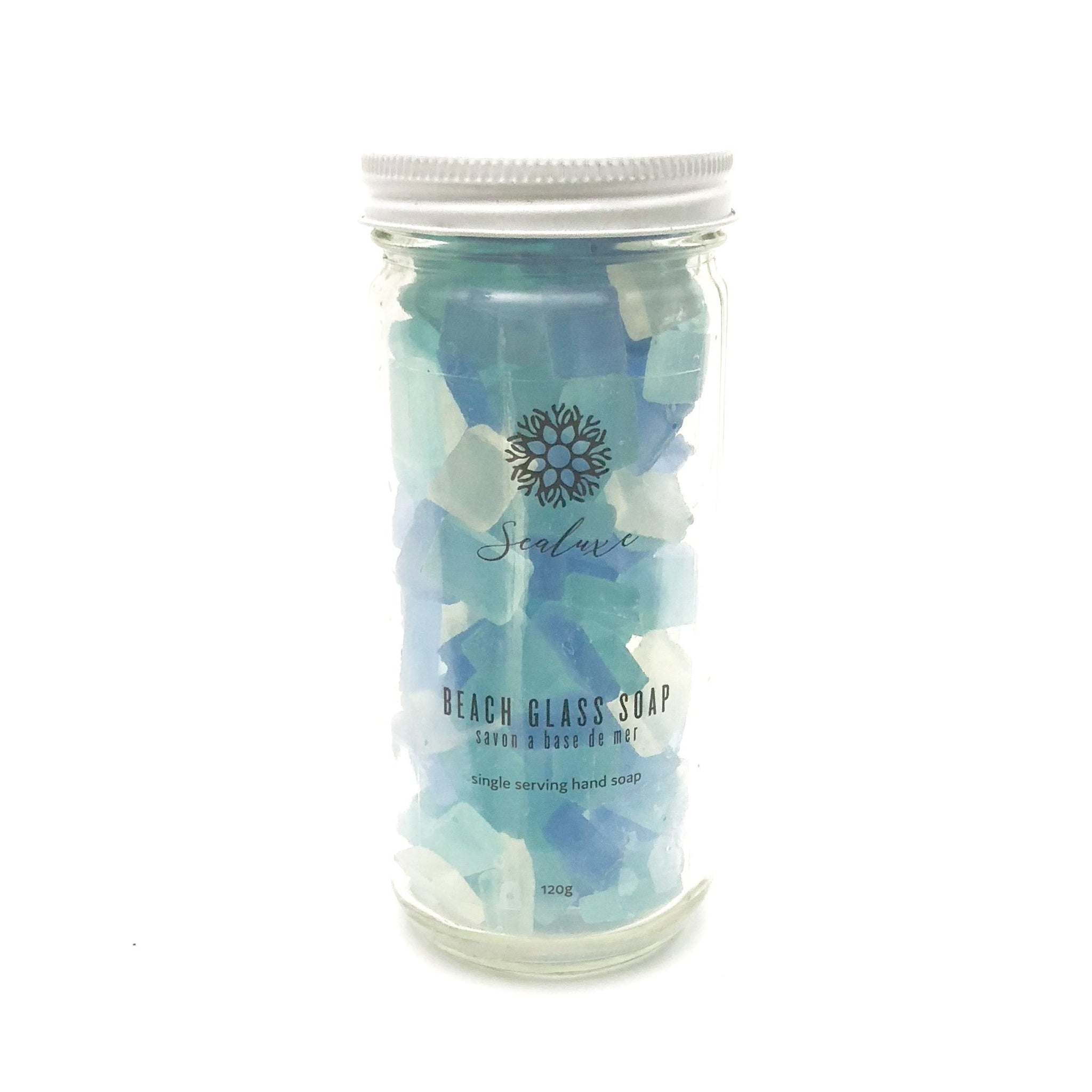 Aqua Beach Glass Soap