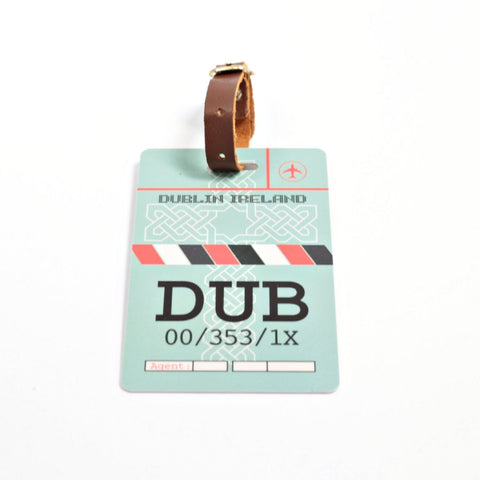 Dublin Luggage Tag (DUB)
