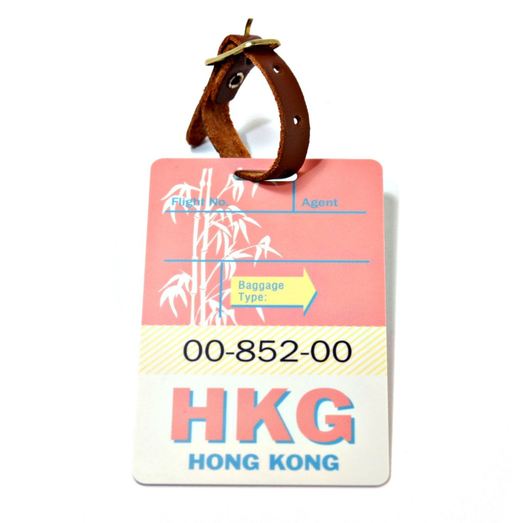 Hong Kong Luggage Tag (HKG)