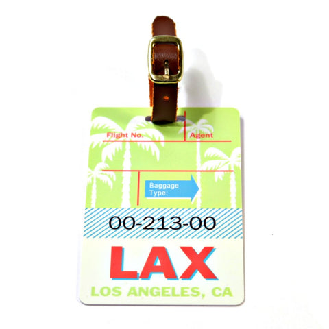 Los Angeles Luggage Tag (LAX)
