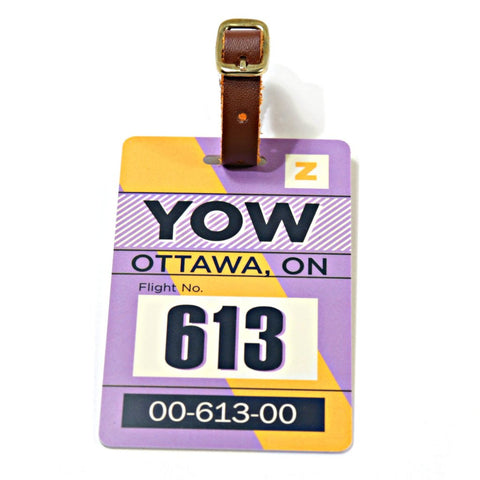 Ottawa Luggage Tag (YOW)