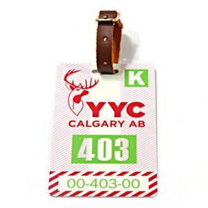 Calgary Luggage Tag (YYC)