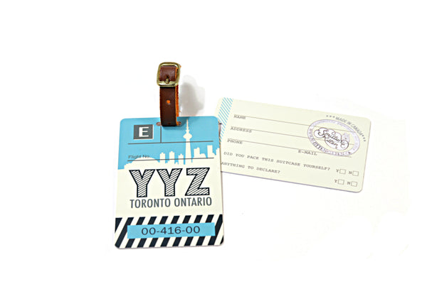 Toronto Luggage Tag (YYZ)