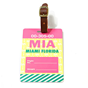 Miami Luggage Tag (MIA)