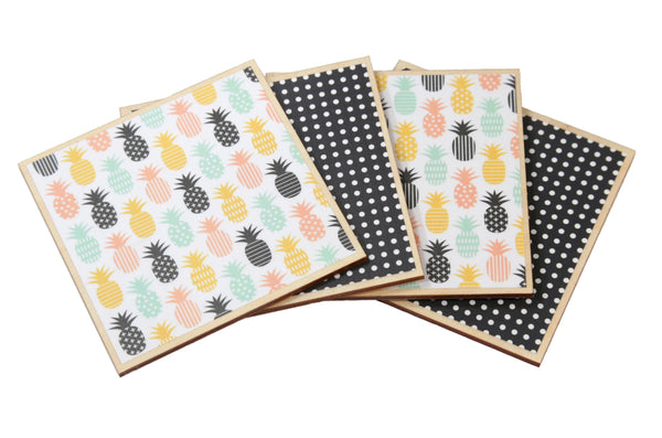 Pineapple Coaster Set