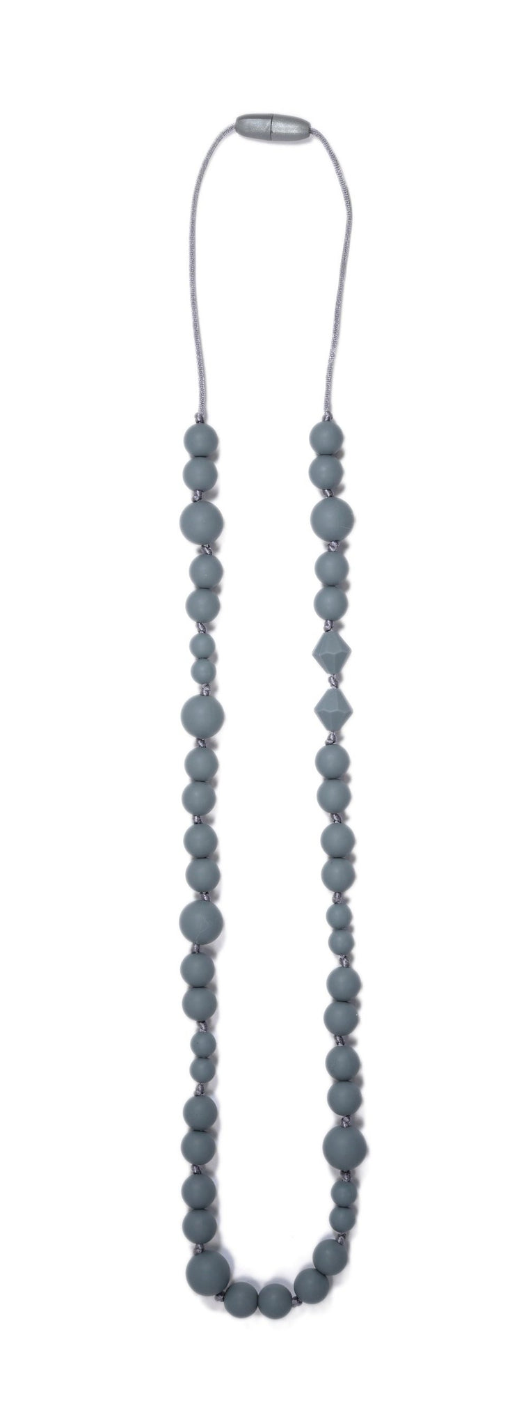 Grey Long Teething Necklace