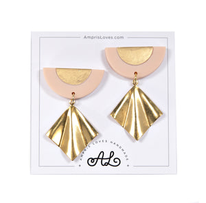 Gold Geo Earrings