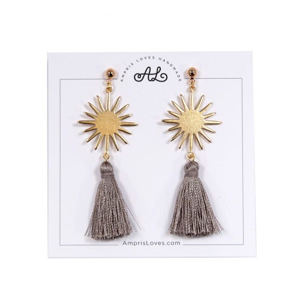 Star and Tassel Earrings