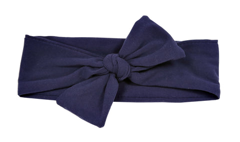 Indigo Baby/Toddler Jersey Headband