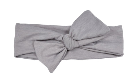 Grey Baby/Toddler Jersey Headband