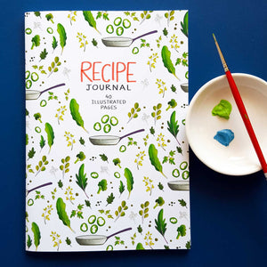 Green Goodness Recipe Journal
