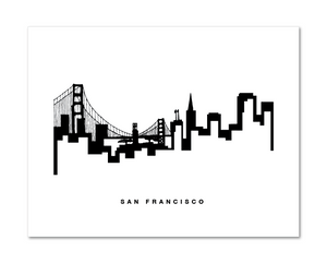 San Francisco Skyline Print