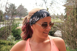 Paisley Workout Headband