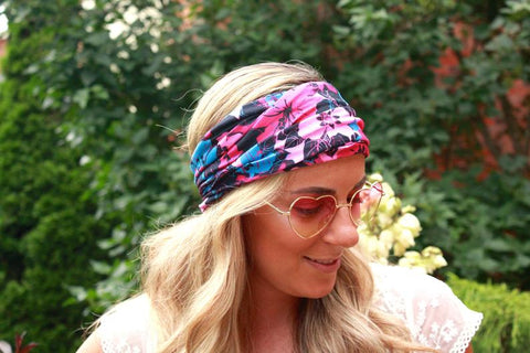 Floral Workout Headband