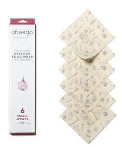 Beeswax Food Wrap - 6 Small
