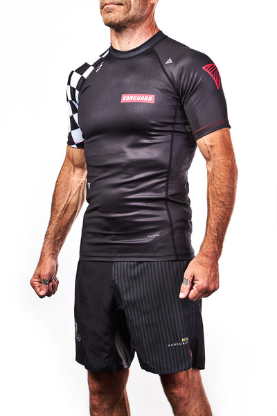 Evolution S/S Rashguard - Black