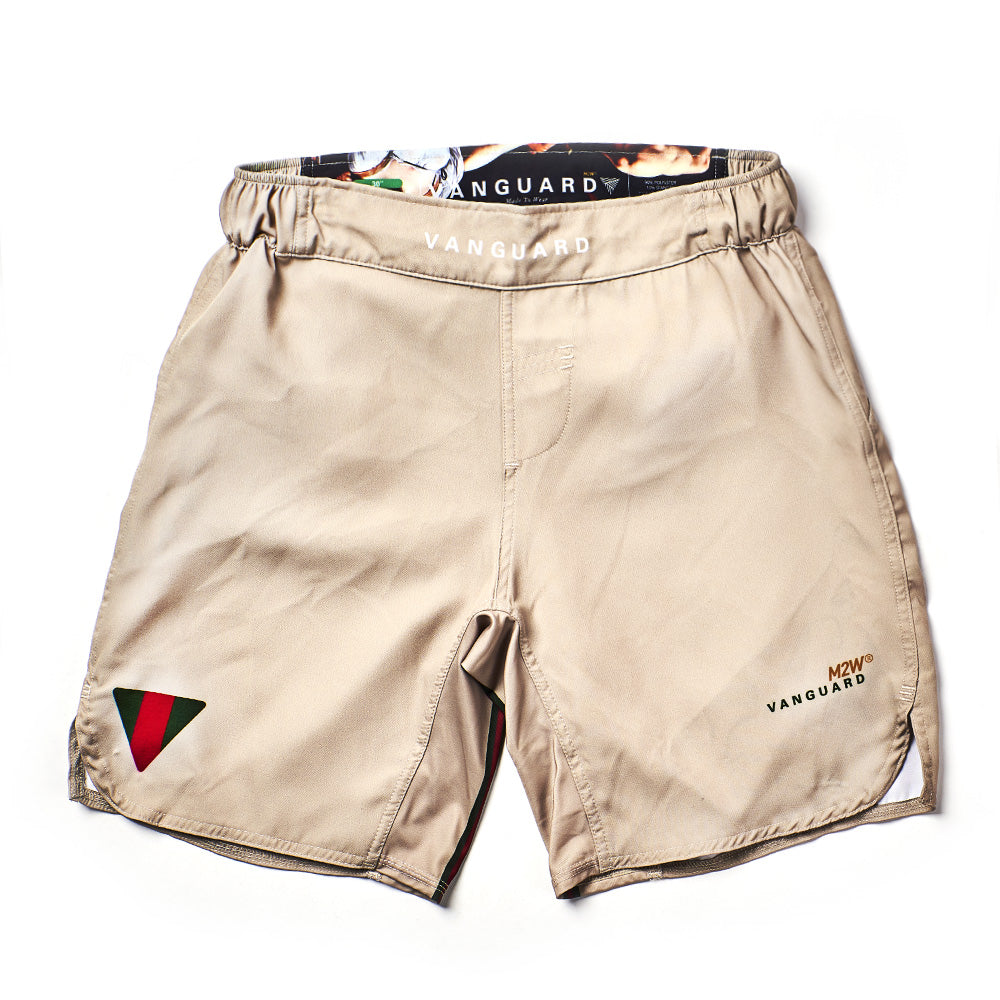 Guccio Grappling Shorts - Latte
