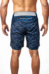 Sashiko Grappling Shorts - Indigo