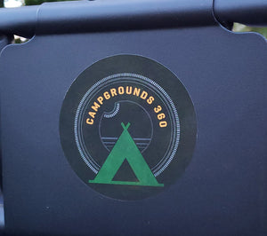 Campgrounds 360 Decal Sticker