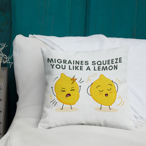 Lem-oji 🍋 - Premium Pillow