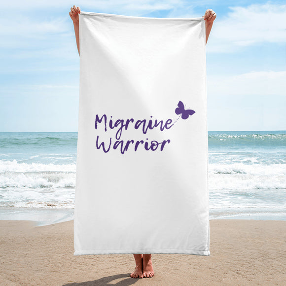 🦋Migraine Warrior 🦋- Towel