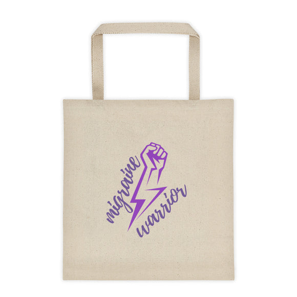 ⚡Migraine Warrior ⚡- Tote bag