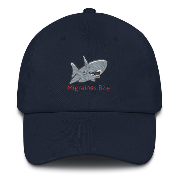 Migraines Bite 🦈 - Baseball Hat