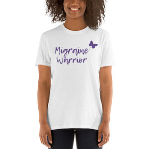 🦋Migraine Warrior 🦋- Short Sleeve Unisex T-Shirt