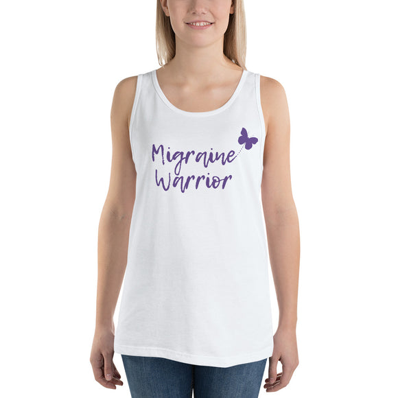 🦋Migraine Warrior 🦋 - Unisex Tank Top