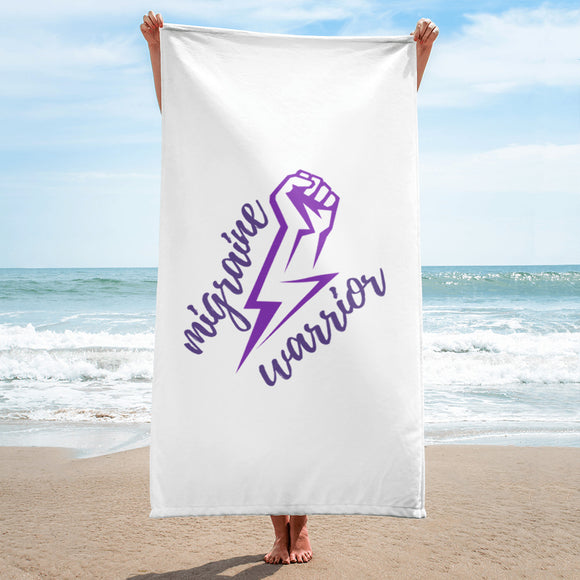 ⚡Migraine Warrior ⚡ - Towel