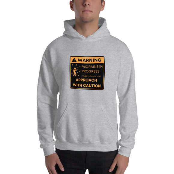 Warning: Approach with Caution - Unisex Hoodie