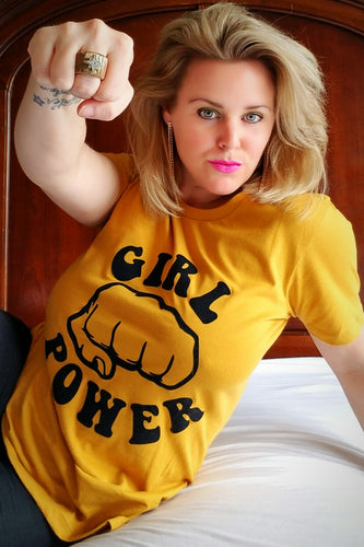 Girl Power 👊 Feminist Women's T-shirt | The Matriarchy Matters™