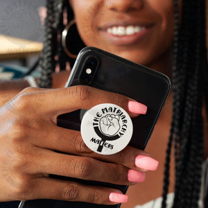 🌹 The Matriarchy Matters™ Phone Grip Pop Phone Stand Feminist Gift Phone Holder