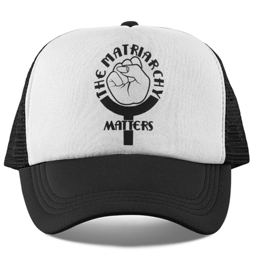 🌹 The Matriarchy Matters™ Feminist Girl Power Trucker Hat