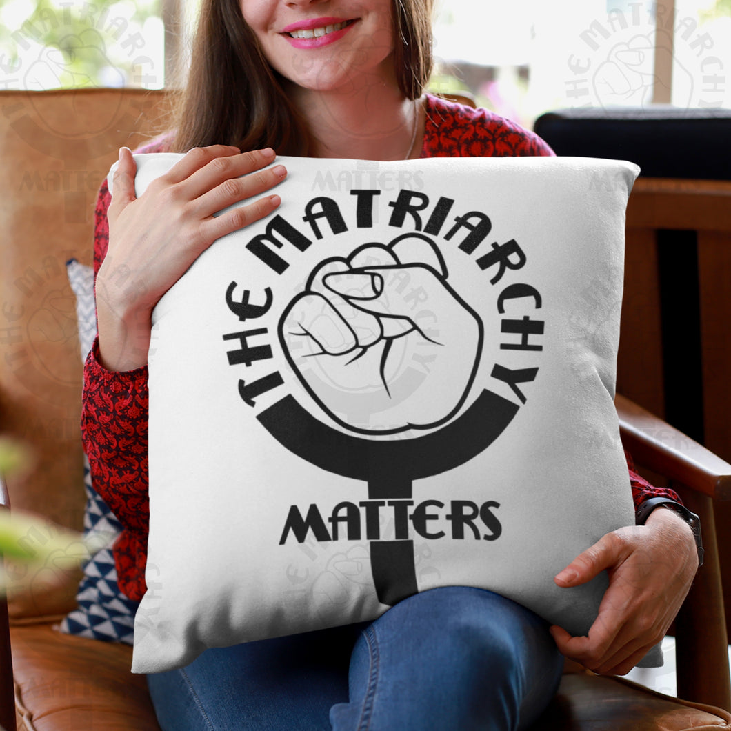 🌹 The Matriarchy Matters™ Premium High Quality Washable Pillow Cover AND Insert