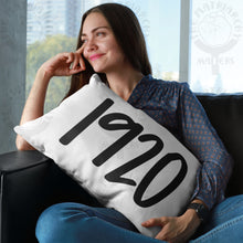Load image into Gallery viewer, ♀️ 1920 Premium High Quality Washable Pillow Cover AND Insert