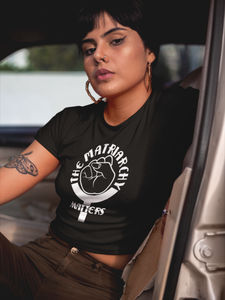 🌹 The Matriarchy Matters™ Women's Crop Top | Feminist Shirt
