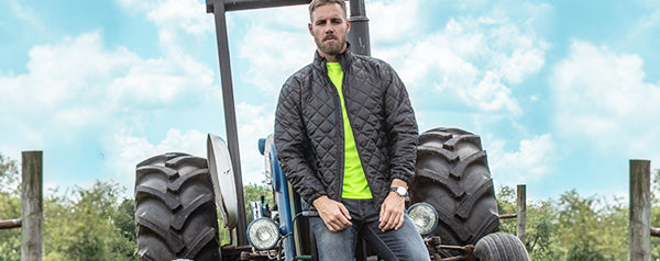 Workreation Quilted Insulated Jacket